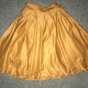 Gold Skirt -ASOS